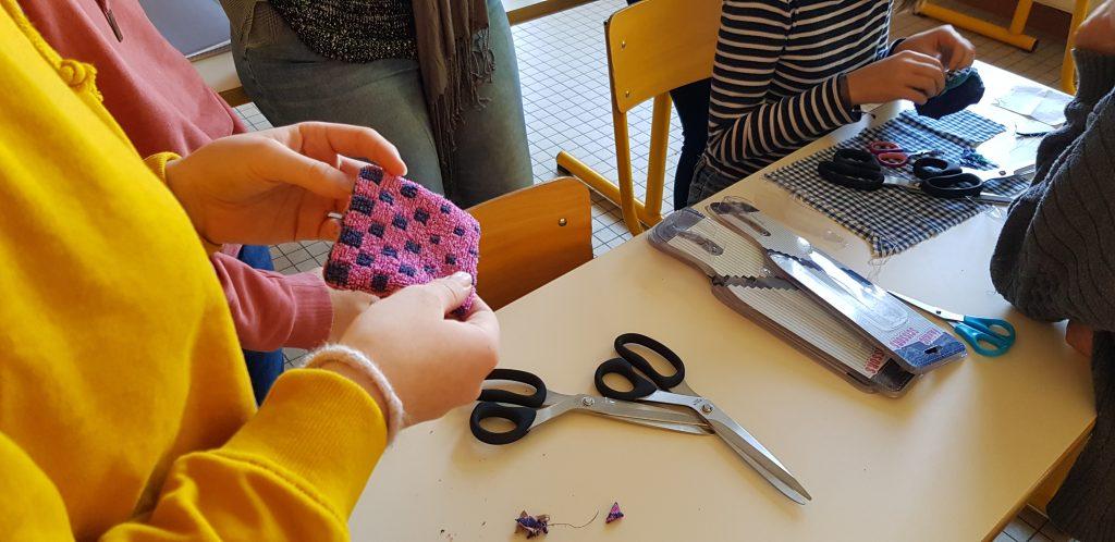 Démarrage de l'atelier couture au collège - Les Bricoles de Gwenn