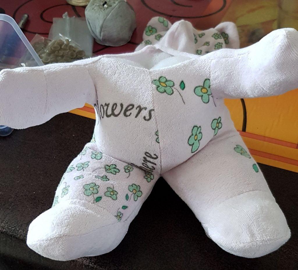 Le nounours souvenir de naissance - Les Bricoles de Gwenn