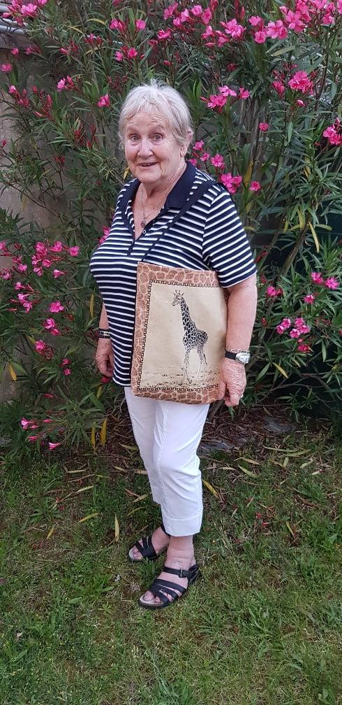 Le sac girafe de ma tante Martine - Les Bricoles de Gwenn