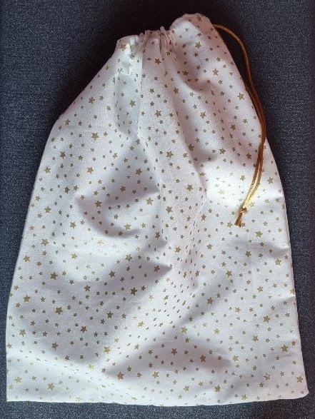Pochon cadeau réutilisable ou sac à vrac - Les Bricoles de Gwenn